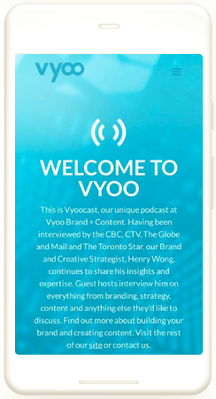 digital marketing strategy vyoo