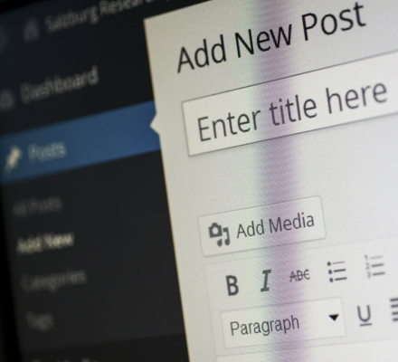 website content strategy for wordpress